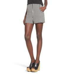 Leith Stripe High Waist Shorts