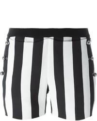 Thierry Mugler Mugler Striped Button Shorts