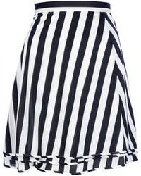 Comme des garcons junya watanabe comme des garons vintage striped skirt medium 110884