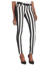 Rachel Rachel Roy Striped Skinny Jeans