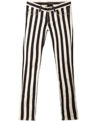 Saint laurent striped skinny jeans medium 175698