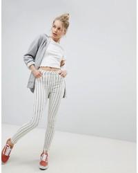 Bershka Stripe Denim Jean
