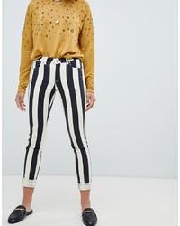 Maison Scotch Striped Skinny Fit Jeans