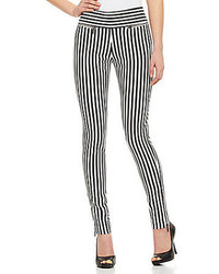Nicole Miller Artelier Striped Denim Pants