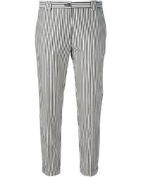 Mauro grifoni striped cropped trousers medium 239520