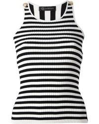 Versace Striped Tank Top