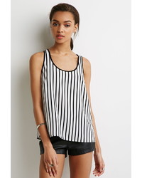 Forever 21 Vertical Striped Top