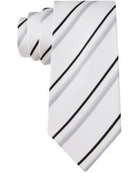 Kenneth Cole Reaction Dressy Stripe Slim Tie