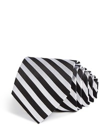 The Store At Bloomingdales Classic Stripe Tie