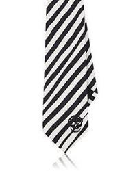 Alexander McQueen Zebra Striped Necktie
