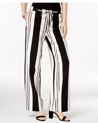 Striped wide leg pants only at macys medium 3665529