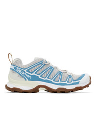 Salomon Grey And Blue X Ultra Adv Sneakers