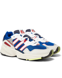 adidas Originals Yung 96 Suede Leather And Mesh Sneakers