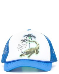 Stella McCartney Kids Crocodile Print Baseball Cap