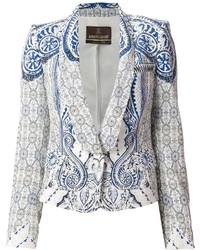 White and blue blazer original 3040359