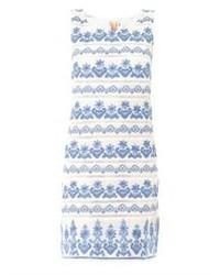 Collette Dinnigan Collette By Bora Bora Embroidered Shift Dress