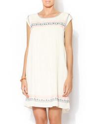 Nolan Zamora Embroidered Dress
