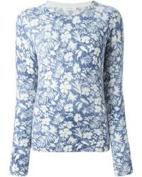 Equipment floral print jumper medium 614522