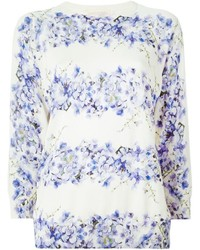 Giambattista valli floral print sweater medium 614521