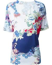 Etro Floral Print T Shirt