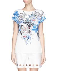 Nobrand Floral Print Jersey T Shirt