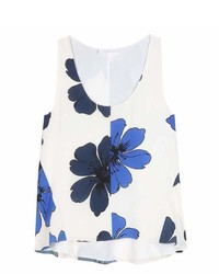 Chloé Chlo Printed Silk Top