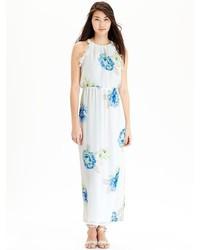 Floral chiffon maxi dresses medium 213329