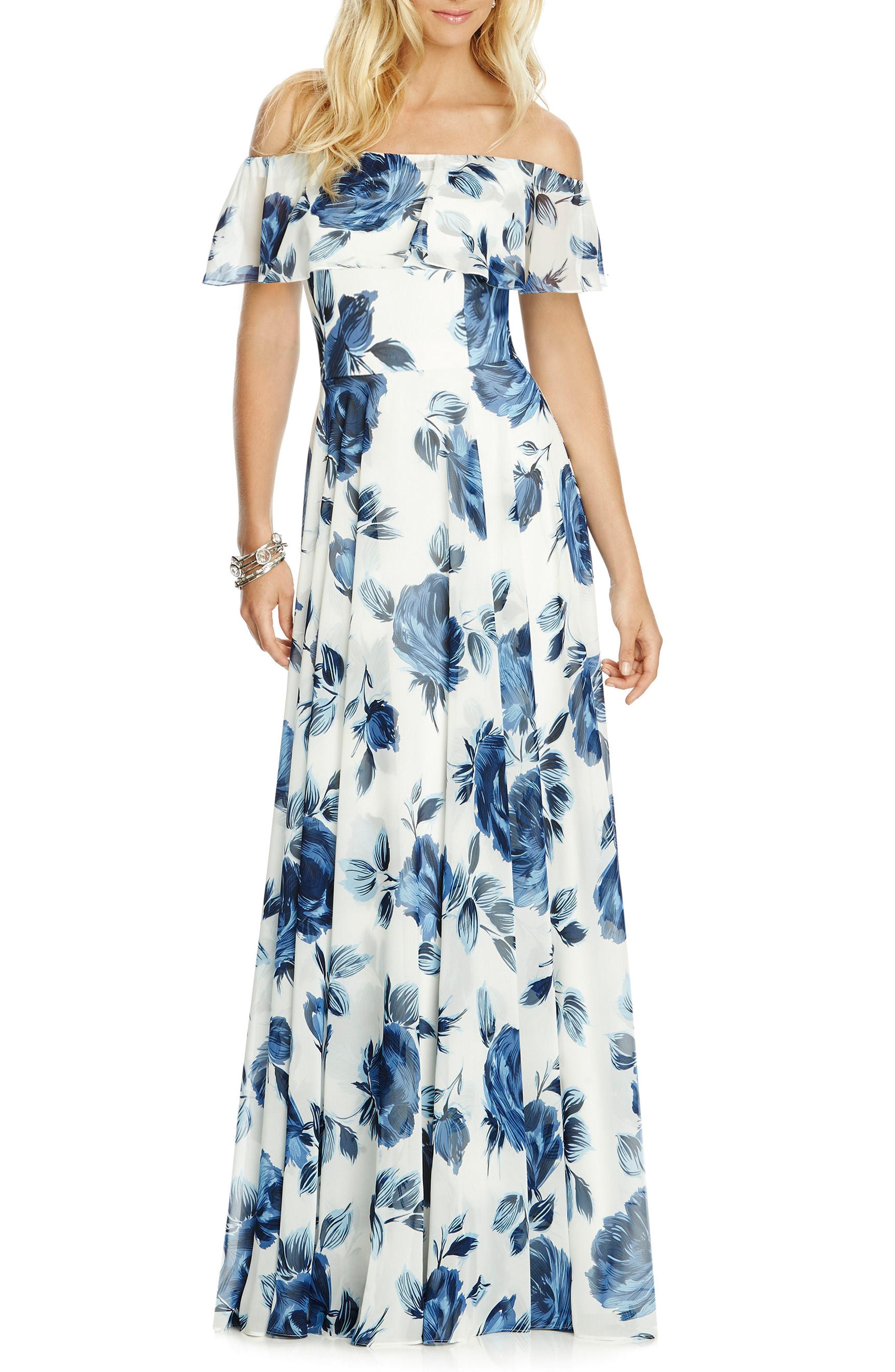 6ca4ec52bb White Floral Maxi Dress Nordstrom - Data Dynamic AG