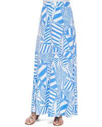 Nola printed maxi skirt medium 267278