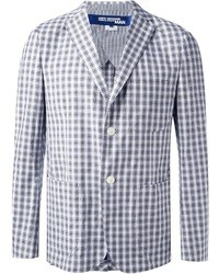 Comme des Garcons Junya Watanabe Comme Des Garons Checked Two Button Blazer