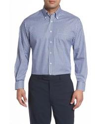 Nordstrom Men's Shop Classic Fit Non Iron Gingham Dress Shirt