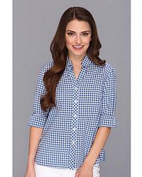 Petite gingham sophie shirt medium 71582