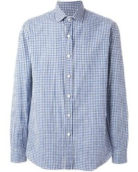 Salvatore Piccolo Gingham Check Shirt