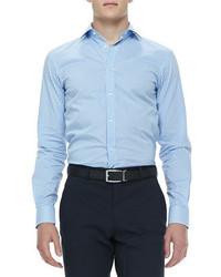 Ralph Lauren Black Label Gingham Check Sport Shirt Bluewhite