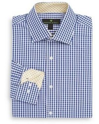 Regular Fit Gingham Check Dress Shirt