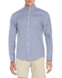 Gant Regular Fit Gingham Cotton Sportshirt
