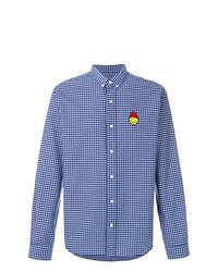 AMI Alexandre Mattiussi Shirt Smiley Chest Patch
