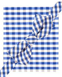 Spectrum gingham bow tie pocket square set medium 292682