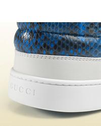 gucci python high tops