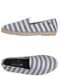 7c89932436 ... One Espadrilles No Brand Which One Espadrilles Out of stock · JOY And MARIO  Joy Mario Nautica Series Blue Pinstripes Canvas Casual Flat Espadrille Shoes