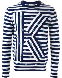 Kenzo K Striped Sweater