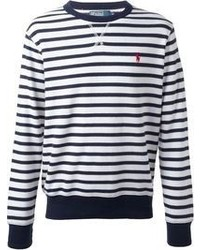 Ralph Lauren Purple Stripe Sweater