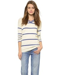Thin stripe sweater medium 195842
