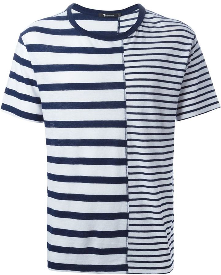 Alexander Wang T By Striped T Shirt