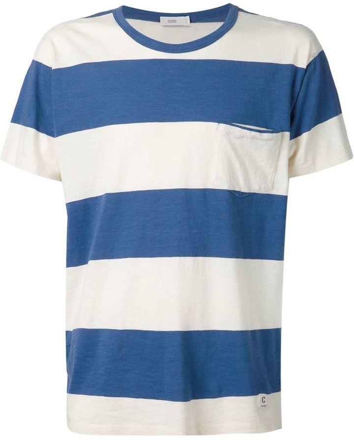 Closed Striped Crew Neck T Shirt