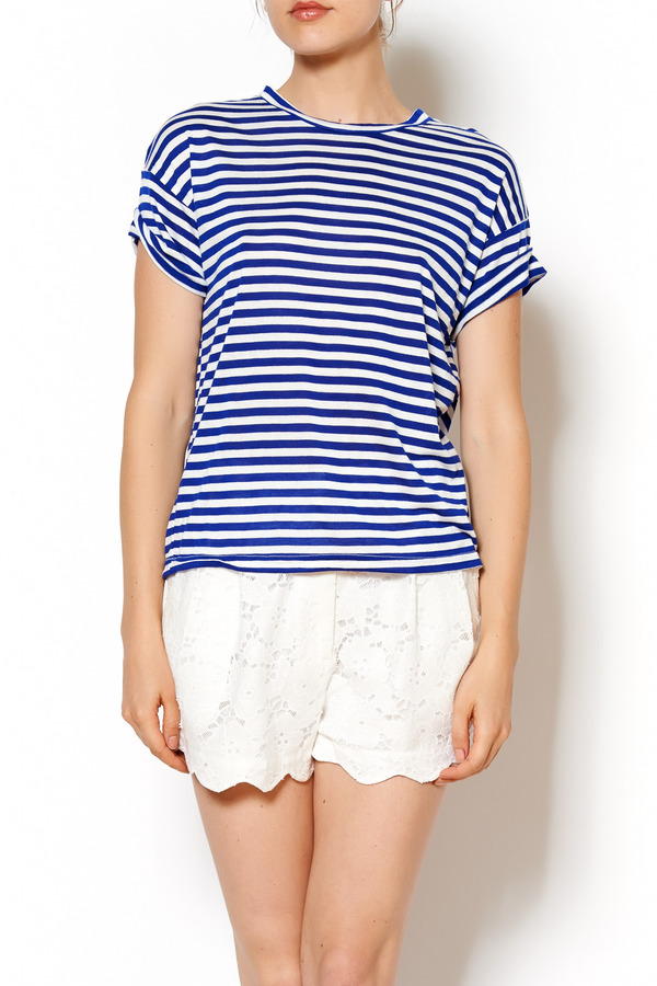 Mil-Tec Blue/White Striped Sailor T-Shirt $ 16 83 Prime. Amazon Essentials. Men's Regular-Fit Striped Cotton Pique Polo Shirt $ 12 00 Prime. out of 5 stars Enimay. Men's Classic Fit Striped Polo T-Shirt Short Sleeve (Many Colors Available) from $ 12 99 Prime. out of 5 stars For G and PL.