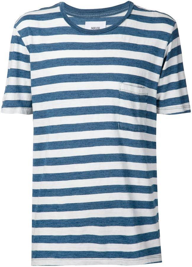 Fadeless Striped T Shirt
