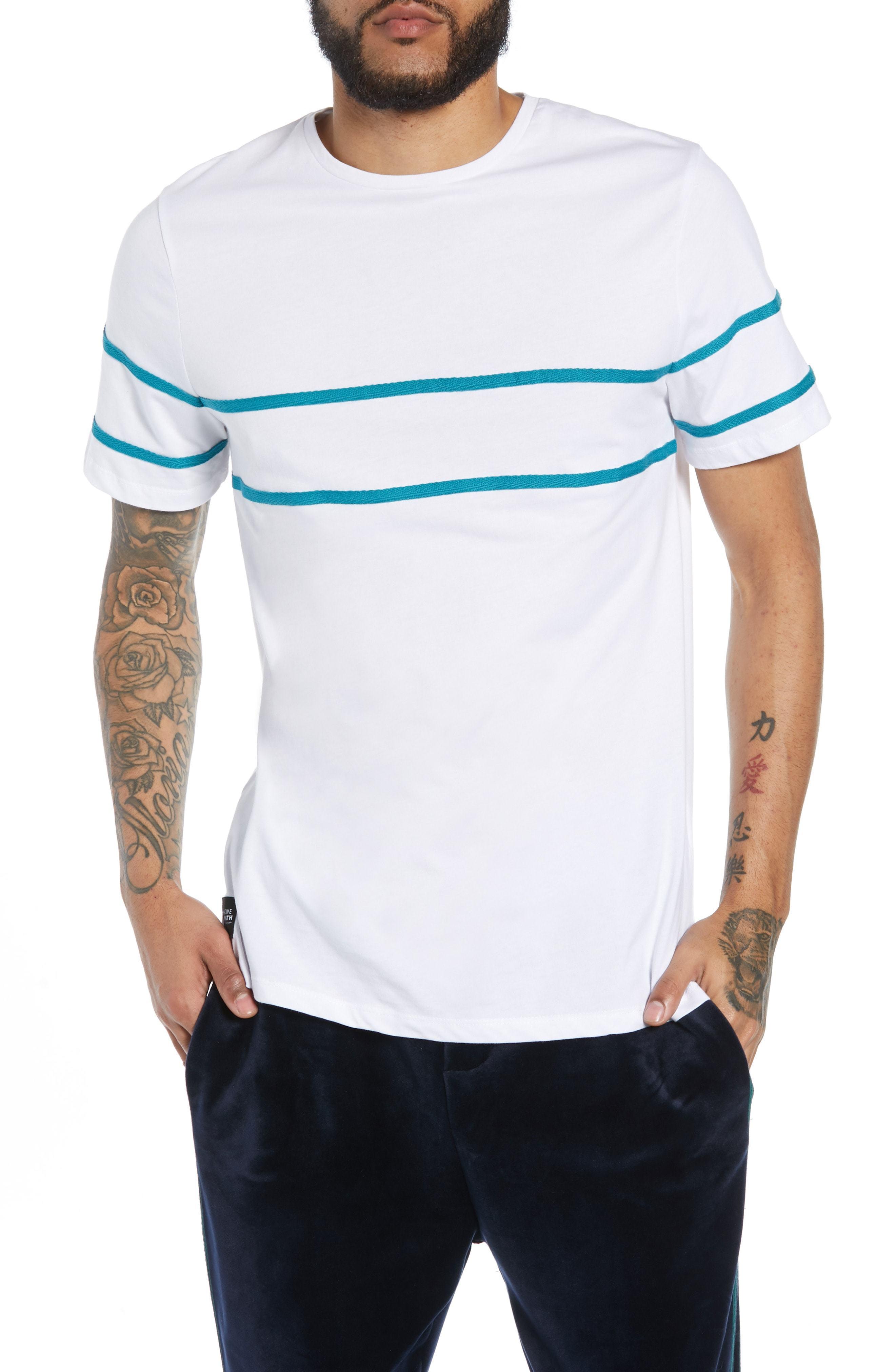 NATIVE YOUTH Herringbone Tape T Shirt