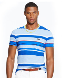 Polo Ralph Lauren Multi Striped Pocket T Shirt