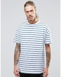 Asos Oversized T Shirt With Stripe
